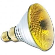 LAMPARA PAR 38 AMARILLA 80W/230V SYLVANIA