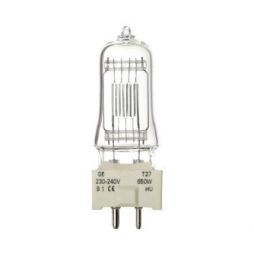 LAMPARA T-27 GY 9,5 650W 230-240V 88469 GENERALELECTRIC
