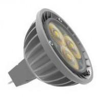 LAMPARA LED TOSHIBA GU5.3, 6,7 W 12V 35º, 3000 k 25000H