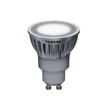 LAMPARA LED TOSHIBA GU10 6 W 35º 2700K. Regulable