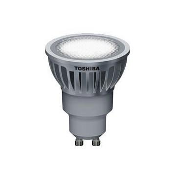LAMPARA LED TOSHIBA GU-10 6,5 W 35º 3000k. Regulable