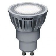 LAMPARA LED TOSHIBA GU-10 6,5 W 25º 4000K. Regulable