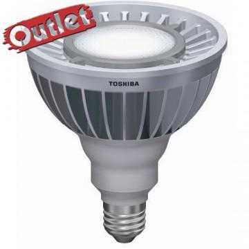 LAMPARA LED TOSHIBA PAR 38, 19.7W 35º 6500K k