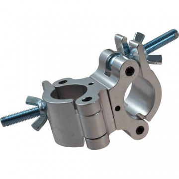 TRITON ABRAZADERA DOBLE 38-52 mm. 500 Kg. 50 mm. Plata