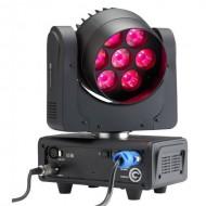 CONTEST NINJA-7x15QC cabeza móvil 7 LED x 15W RGBW