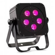 CONTEST irLEDFLAT-5x12SIXb, Proyector compacto de5 LED 6en1 12W (RGB