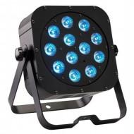 CONTEST irLEDFLAT-12x12SIXb, Proyector compacto de12 LED 6 en1 12W (R