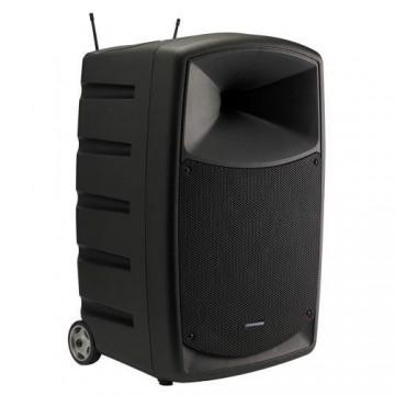 AUDIOPHONY CR12A-COMBO - Caja con bateria 120W + mesa + 2 micros + BT