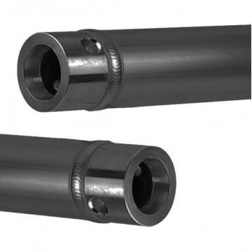 CONTEST TUBO ALUMINIO 50mm, 150cm, color Negro UNO-150B