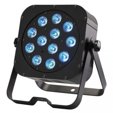 CONTEST irLEDFLAT PROYECTOR COMPACTO 12 LED RGB+W+A+UV