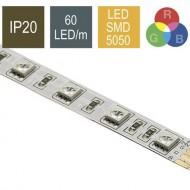 CONTEST COLORTAPE6020, Tira 60 LED/m RGB IP20