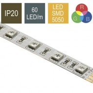 CONTEST COLORTAPE6020, Tira 60 LED/m RGB IP20