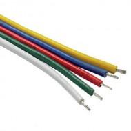 CONTEST, FLATCABLE-5 Rollo cable plano 5 x 0,326mmde 10 m para LED