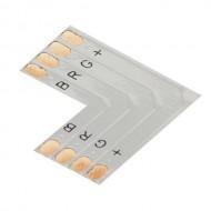 CONTEST LCO-4 CONECTOR EN L para tira de led RGB- 10 mm