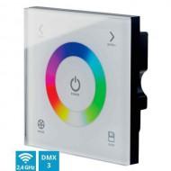 CONTEST PILOTctl-3, Panel Táctil DMX + Wifi 2,4GHz1 zona RGB