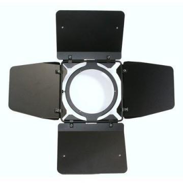 VISERA 4 ALETAS CUARZO 800/1000 LED (22,6 cm ANCHOx 20,20)