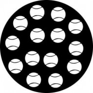 GOBO METAL ESTANDAR TENNIS BALLS ROSCO
