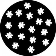 GOBO METAL JIGSAW PIECES ROSCO