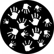GOBO METAL HANDPRINTS ROSCO
