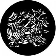 GOBO METAL REFLECTIVE BUBBLES ROSCO