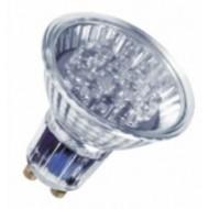 LAMPARA LED DECOSPOT 0,7W GU 10 ROJO OSRAM