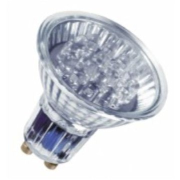LAMPARA LED DECOSPOT 0,82W GU10 VERDE (OSRAM)