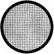 ROSCO GOBO VIDRIO 81131, PLATE WEAVE, Blanco y Negro
