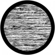 ROSCO GOBO VIDRIO 81136, STATIC, Blanco y Negro