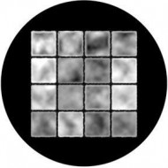 ROSCO GOBO VIDRIO 81138, SHADOW BLOCKS, Blanco y Negro