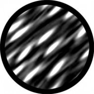 ROSCO GOBO VIDRIO 81140, SYNAPTIC, Blanco y Negro