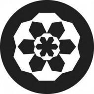 ROSCO GOBO VIDRIO 81147, BLOCK HEAD, Blanco y Negro