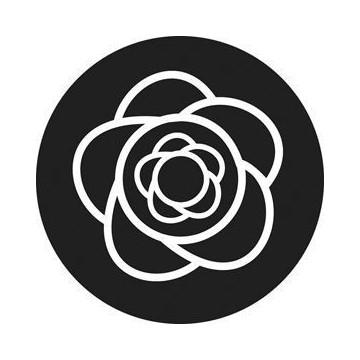 ROSCO GOBO VIDRIO 81148, OSRBITALS, Blanco y Negro