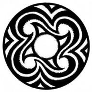 ROSCO GOBO VIDRIO 81159, EASTERN TATTO, Blanco y Negro
