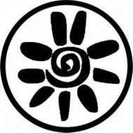 ROSCO GOBO VIDRIO 81166, SOL AZTECA, Blanco y Negro