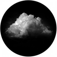 ROSCO GOBO VIDRIO 81185, PERFECT CLOUD, Blanco y Negro