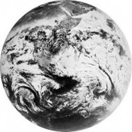 ROSCO GOBO VIDRIO 82712, EARTH 2, Blanco y Negro