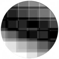 ROSCO GOBO VIDRIO Blanco y Negro 82725 TEST CARD