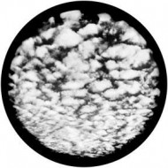 ROSCO GOBO VIDRIO 82730 FLUFFY CLOUDS ByNegro