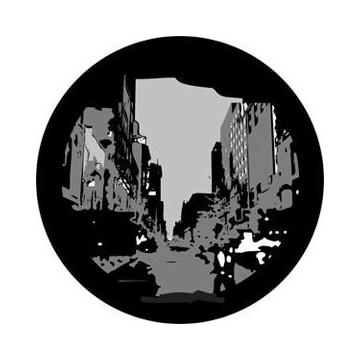 ROSCO GOBO VIDRIO 82733, CITYSCAPE 1, Blanco y Negro