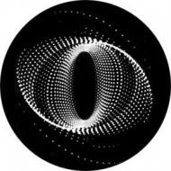 ROSCO GOBO VIDRIO 82738, TWISTED PARTICLES 2, Blanco y Negro