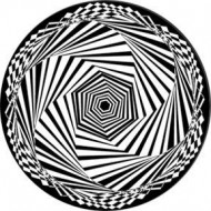 ROSCO GOBO VIDRIO 82759, HExSTATIC 1, Blanco y Negro
