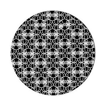 ROSCO GOBO VIDRIO 82774, LACY STAR, Blanco y Negro