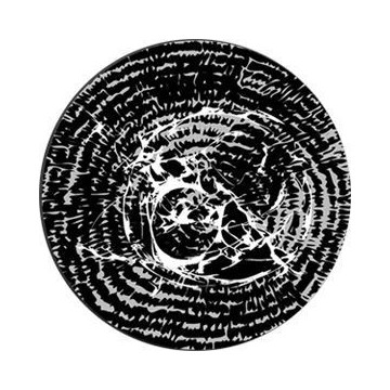 ROSCO GOBO VIDRIO 82776, ORGANIC AMBIENT, ByN Negro