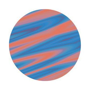 ROSCO GOBO VIDRIO 84425, SATURN ORANGE, Color