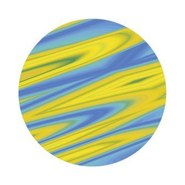 ROSCO GOBO VIDRIO 84426, SATURN YELLOW, Color