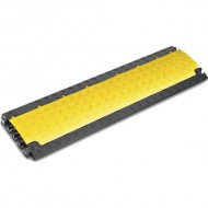 DEFENDER NANO 85150 PASACABLES 6 CANALES (color negro-amarillo)