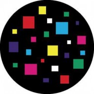 ROSCO GOBO VIDRIO 86603, SQUARES, Color