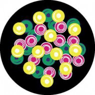 ROSCO GOBO VIDRIO 86608, BUBBLES, Color