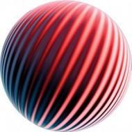 ROSCO GOBO VIDRIO 86626, EMOSPHERE RED, Color