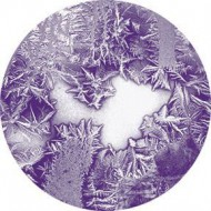 ROSCO GOBO VIDRIO 86634, INDIGO FROSTED, Color